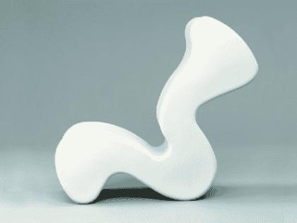 3D Printed Panton Chair in PLA Through FDM Printer