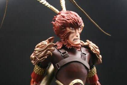 3D Printed SLA Figurine The Monkey King As A Birthday Gift