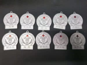 SLS 3D Printed Personalized Medals As Souvenirs In The Battle With Coronavirus
