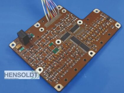 HENSOLDT Successfully Assembled the First 10-layer PCB on Both Sides of the Board