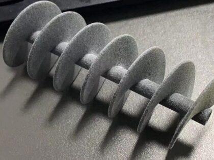 SLA and SLS 3D Printed Coffee Stirrer Prototype
