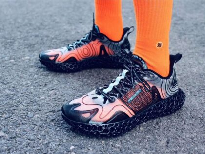 First Fully SLS and FDM 3D Printed Sneakers using TPU