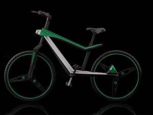 SLA 3D Printed Bike Scale Model