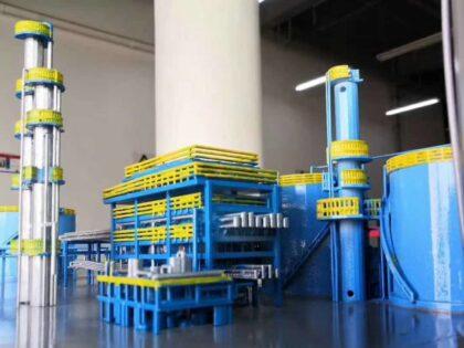 SLA 3D Printed Chemical Plant Model