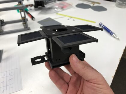 Mini-Cubes Has Developed and Produced Three 3D Printed Flying PocketQubes.