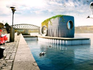 The First 3D Printed Floating House in the World Will Be Soon Completed in Czech