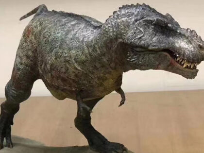 DLP 3D Printed Dinosaur Model With Layer Thickness of 0.025mm