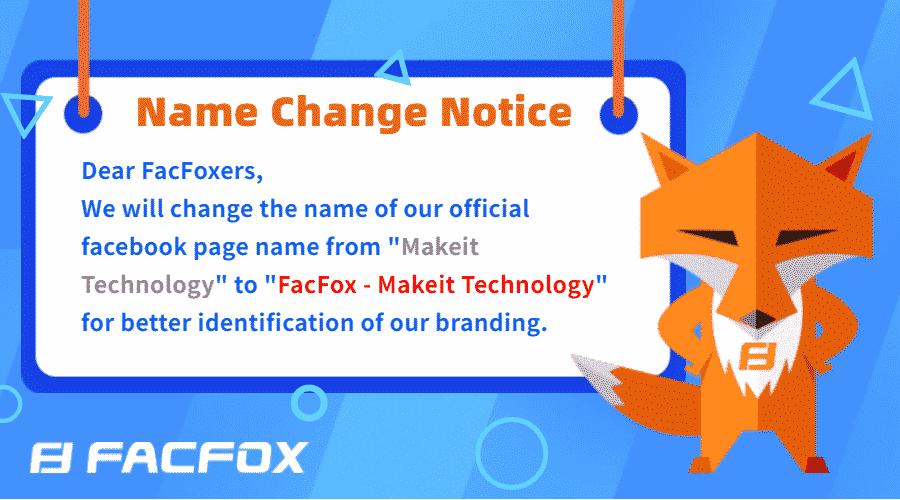 FacFox Facebook Name Change
