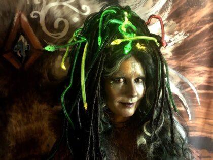 Spooky Halloween Cosplay 3D Model Sharing