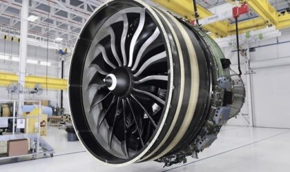 FAA Certified GE9X Engine with 3D Printed Components