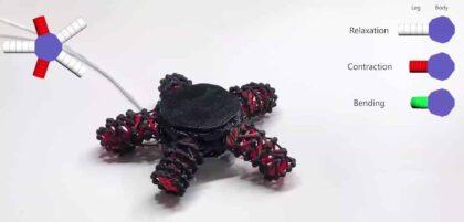 Korean Researchers 3D Print Walking Starfish Robot Using Tensegrity Structures